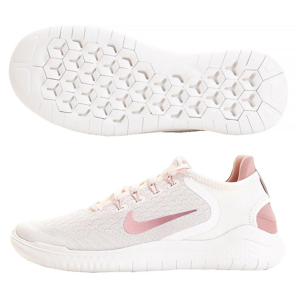 Nike Free RN 2018, Zapatillas de Running para Mujer 38 EU|Multicolor (Guava Ice/Rust Pink-sail-pink Tint 802)