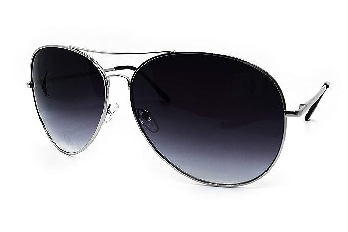 d6a5a1216f2d5 O2 Eyewear 215SD Premium Oversized XXL Aviator True Oversize Huge Sunglass  Womens Mens (BLACK