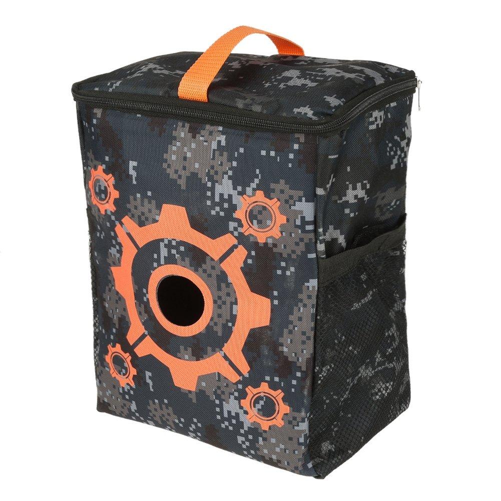 FTVOGUE Target Pouch Storage Carry Equipment Bag for Nerf Guns Darts N-Strike Elite Series Tactical Nerf Gun Games by FTVOGUE