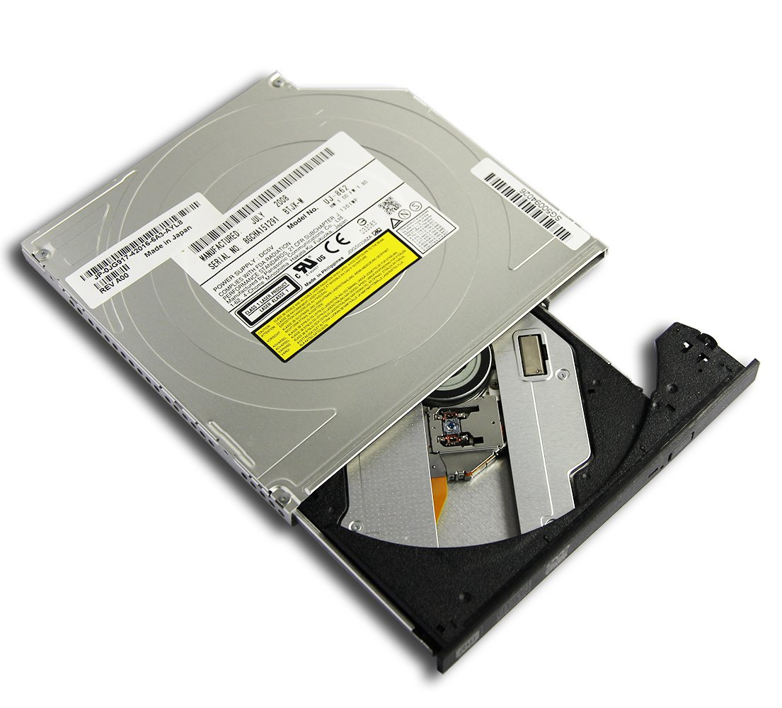 New for HP Compaq NC6400 NC6000 NC6320 NC6120 NC6220 2510p 2710p 2230s NC2400 Laptop Super Multi 8X DVD+-RW DVD-R DL Writer 24X CD Burner Internal Slim Optical Drive Replacement