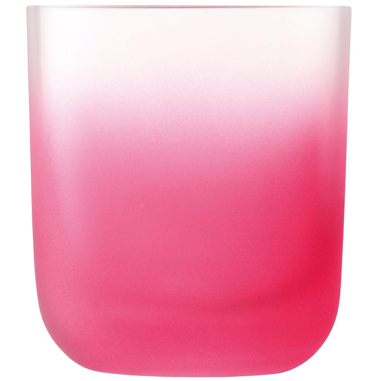 Rosso LSA International 325/ml Haze tumbler confezione da 4