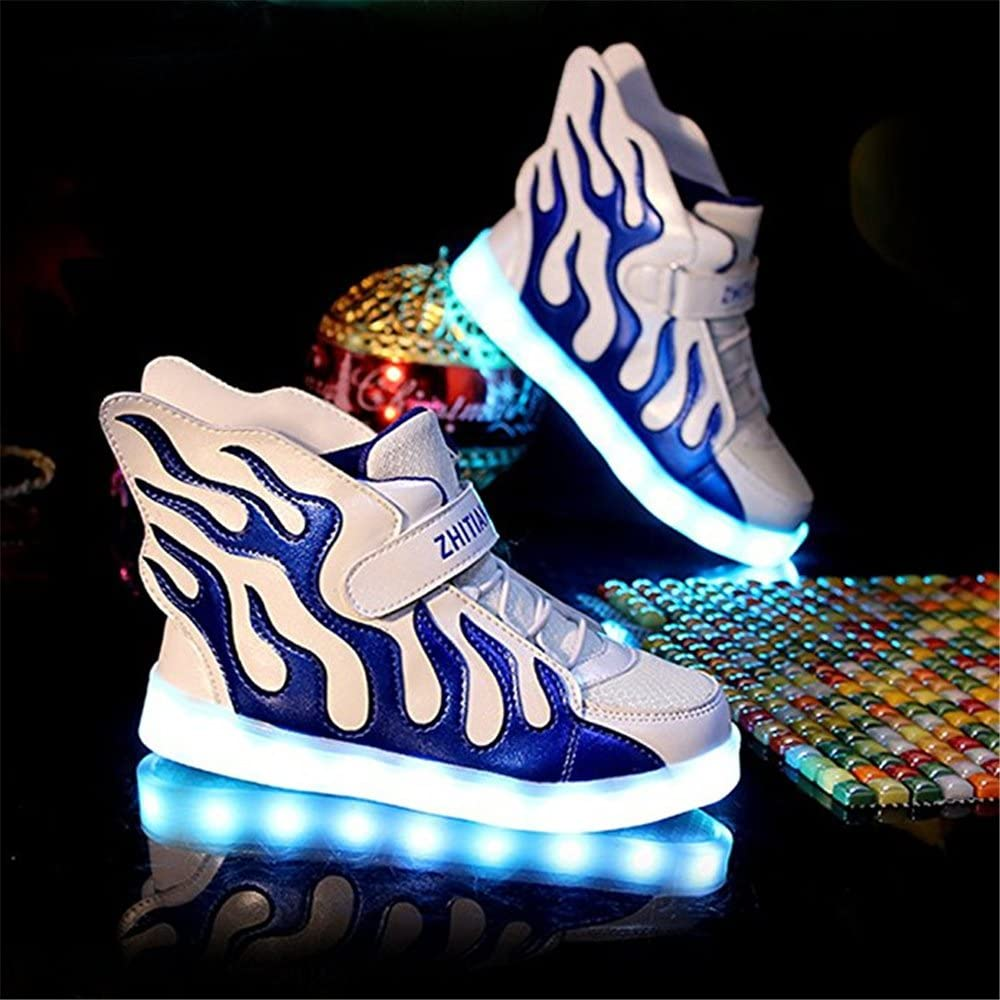 24XOmx55S99 Dance LED Light Up High Top Wings Shoes USB Rechargeable Flashing Sneakers for Toddlers Kids Boys Girls