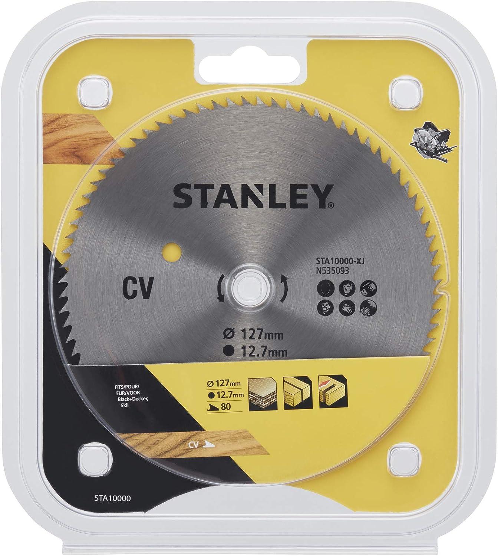STANLEY STA10000-XJ Hoja cromada /ø 127x12.7 mm 80 dientes