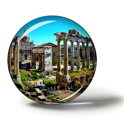 Hqiyaols Souvenir Italia Foro Romano Roma Imanes Nevera ...