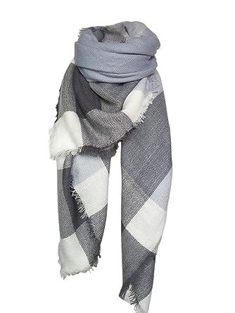 26ac66060ad Vlunt Echarpe Longue Douce et Chaude Automne Hiver pour Femme Foulards  Châle Long Etole Filage de