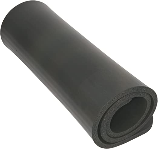 Deluxe Comfort Yoga Workout Mat – Lightweight Poly-Foam – Reduce Back Tension – Perfect for Yoga – Yoga Mat, Black