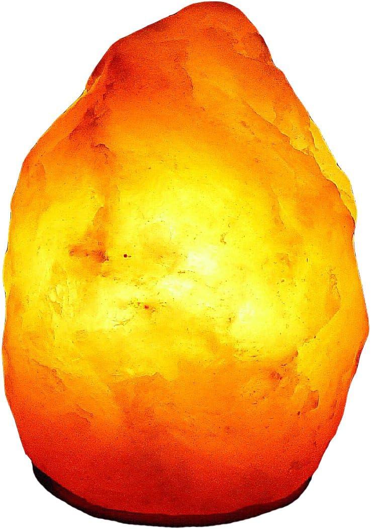 Janni-Salzlampen 24010 Bosalla Lampe en cristal de sel de lHimalaya de qualit/é sup/érieure 3,2-4 kg