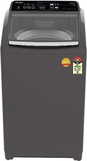 7.5KG Whirlpool 5 Star Fully-Automatic Top Loading Washing Machine Hard Water Wash WHITEMAGIC ROYAL PLUS