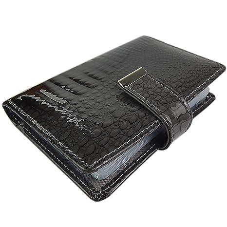 Ekavale Hochwertige Kreditkartenmäppchen Aus Echtem Lack