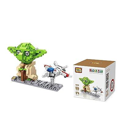 LOZ 9530 Action Figure Y@da Building Block, Plastic Building (390 Pcs): Toys & Games