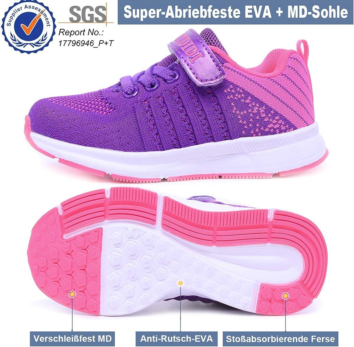 Chaussures de Sport Enfant Baskets Basses Fille Sneakers Gar/çon Mode Chaussure de Course Outdoor Running Comp/étition Entra/înement
