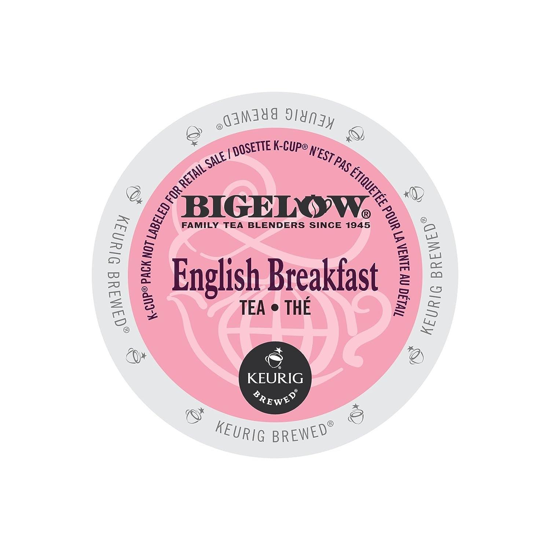 Bigelow 6080CT English Breakfast Tea K-Cups, 24/box, 4 Box/carton