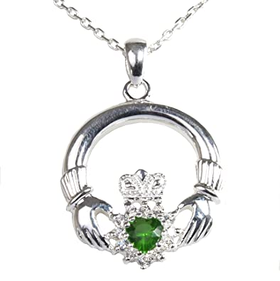 wing angel pendant wings winged claddagh