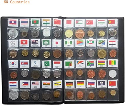 25 Nicely labeled World Coin Lot All in 2 X 2 Coin Flips No Duplicates
