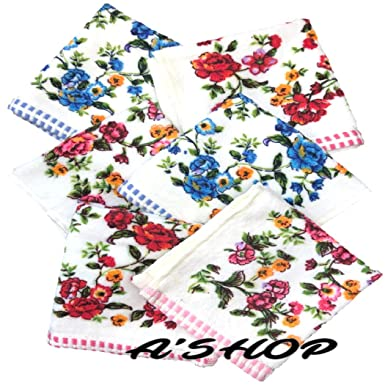 45f78c6a1f9 A SHOP Supreme Quality Prettiest Love Stuck Super Soft Beautiful Thick  Towel Colorful Handkerchiefs with Colourful ...