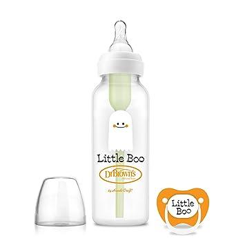 Amazon.com: Dr. Brown s opciones Baby Bottle, 8 onzas con ...