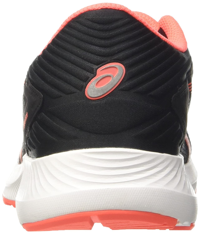 Asics Coral/schwarz) Damen Nitrofuze Laufschuhe, grau Grau (Carbon/Flash Coral/schwarz) Asics f9ea8e