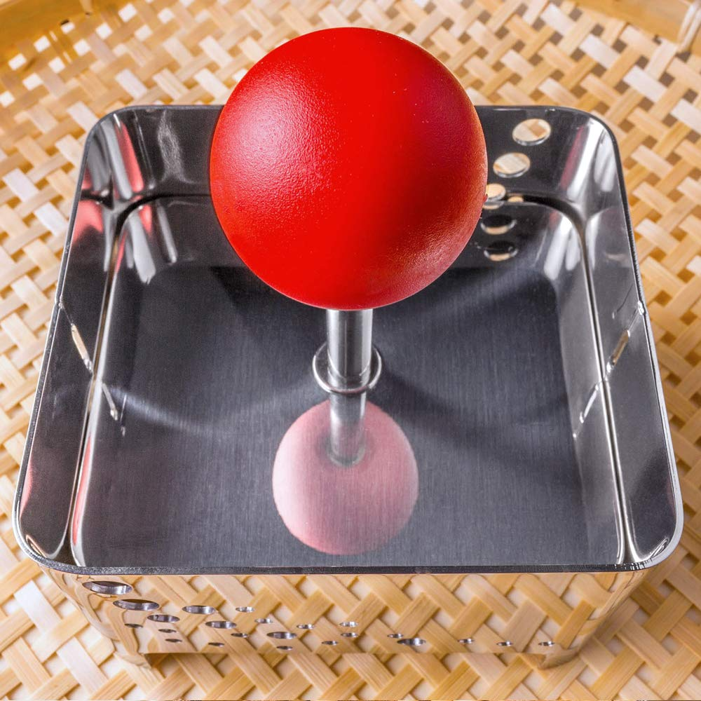 Raw Rutes - Tofu Press (Sumo) - Remove Water from Tofu OR Make Your Own Tofu or Paneer - USA Made from FDA Approved Stainless Steel by Raw Rutes (Image #3)