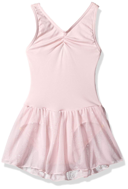 Capezio DRESS ガールズ B07GFVS1TT ピンク Child Medium