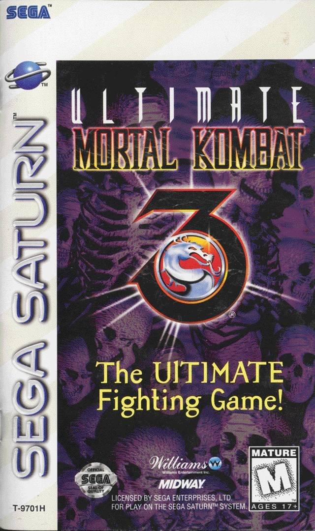 Ultimate Mortal Kombat 3 - Sega Saturn: Video Games