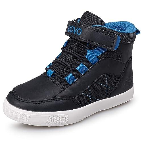 Zapatos Niño Invierno Velcro Zapatillas Niño Botas de Algodón niña Zapatillas para la Nieve Deportivas Bambas Unisex-niños: Amazon.es: Zapatos y ...