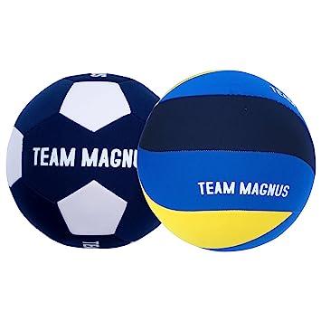 Team Magnus Balón de Voleibol Balon de fútbol de Neopreno para Exterior -  Pelota de 45a5aef8ad23e