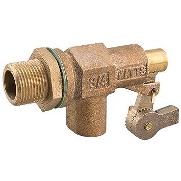 Vatios 3/4 750 - 12 3/4-inch bronce resistente válvula de flotador, contratuerca, Junta: Amazon.es: Bricolaje y herramientas