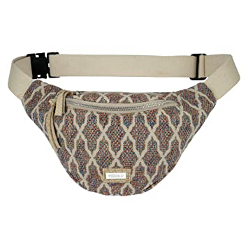 fe24129faaaa7 goldmarie Hip Bag Hüfttasche Canvas marokkanisches Muster Gürteltasche  Hipbag Stoff Tasche bunt