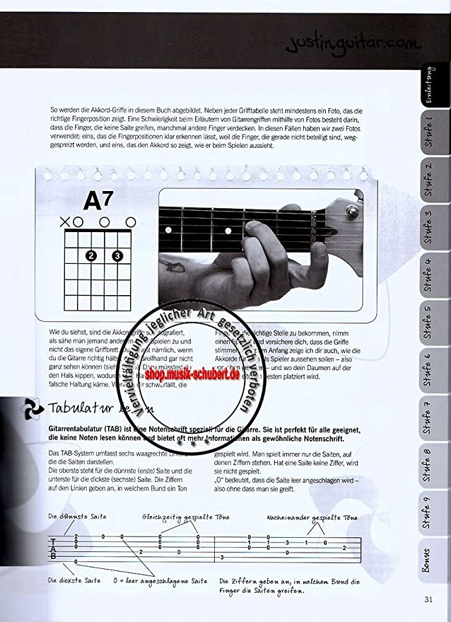 Cambio de Justin Guitar para Guitarra para Principiantes: Amazon ...
