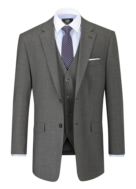 Skopes Wool Rich Darwin Grey Suit Jacket
