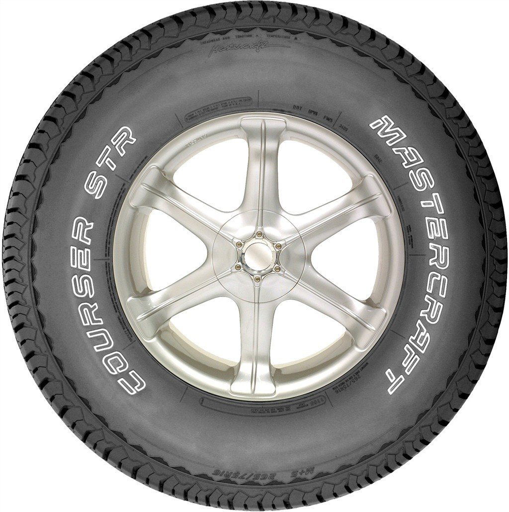 245//70R17//SL 110S Mastercraft Courser STR All-Season Radial Tire