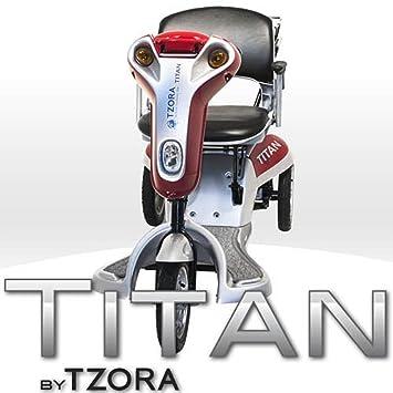 Amazon.com: Tzora – Titan – ligera, plegable – Patinete de 3 ...
