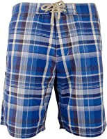 Polo Ralph Lauren Mens Plaid Rope String Board Shorts