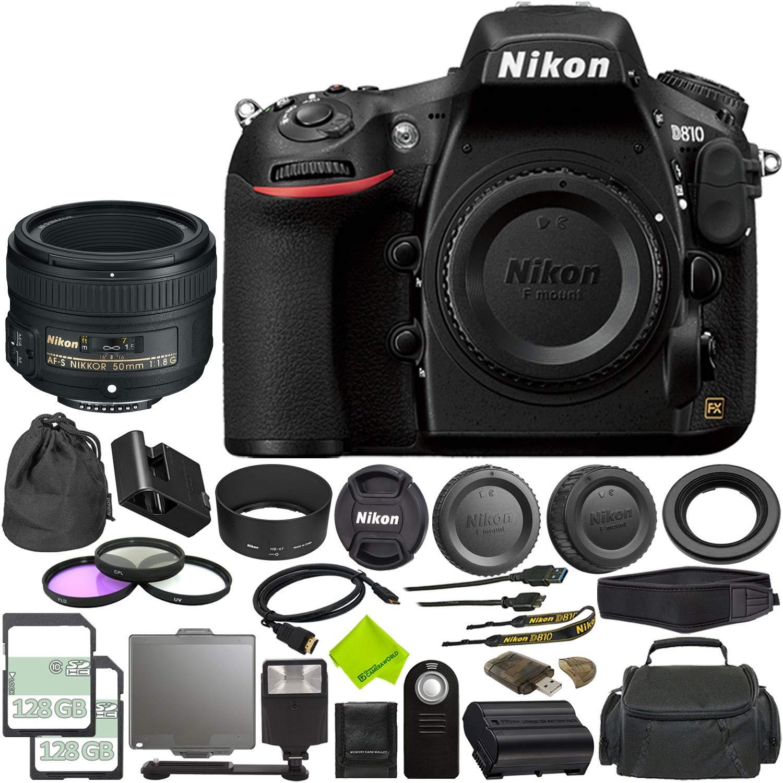 Nikon D810 - Cámara réflex Digital (Solo Cadena) + Tarjeta ...