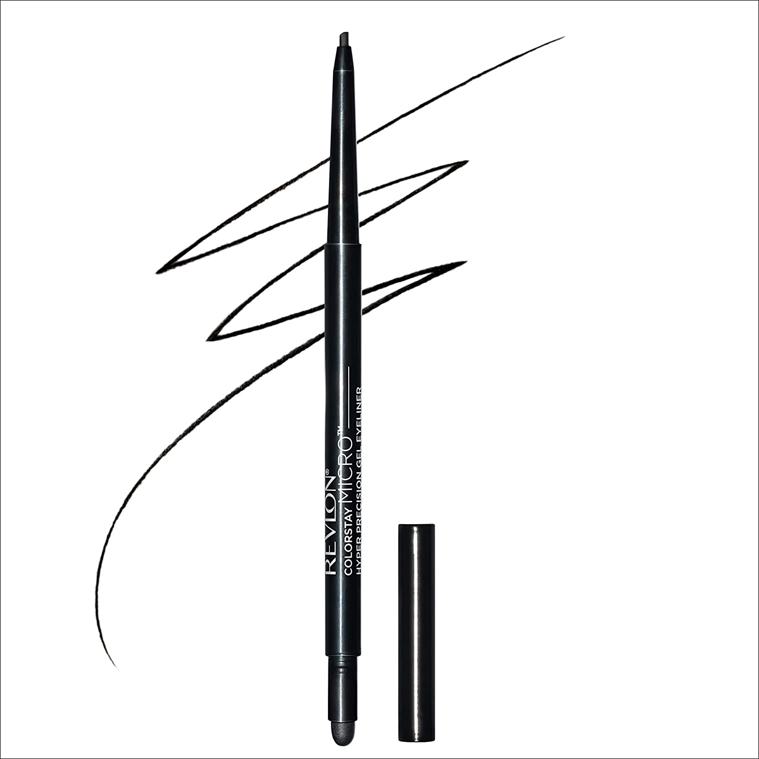 Revlon Colorstay Micro hyper Precision Gel Eyeliner, Waterproof, Long wearing, 0.009 Oz, Black