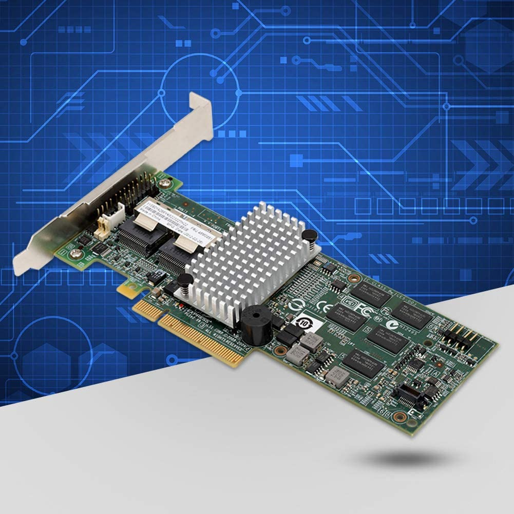 PCI-E 2.0 X8 IBM M5015 Smart Server-Array-Karte Megaraid 9260-8i SATA//SAS-Controller-RAID 6G PCIe x8 f/ür LSI 46M0851 Unterst/ützt SATA und SAS-Festplattenlaufwerke mit 3 Gbit//s und 6 Gbit//s