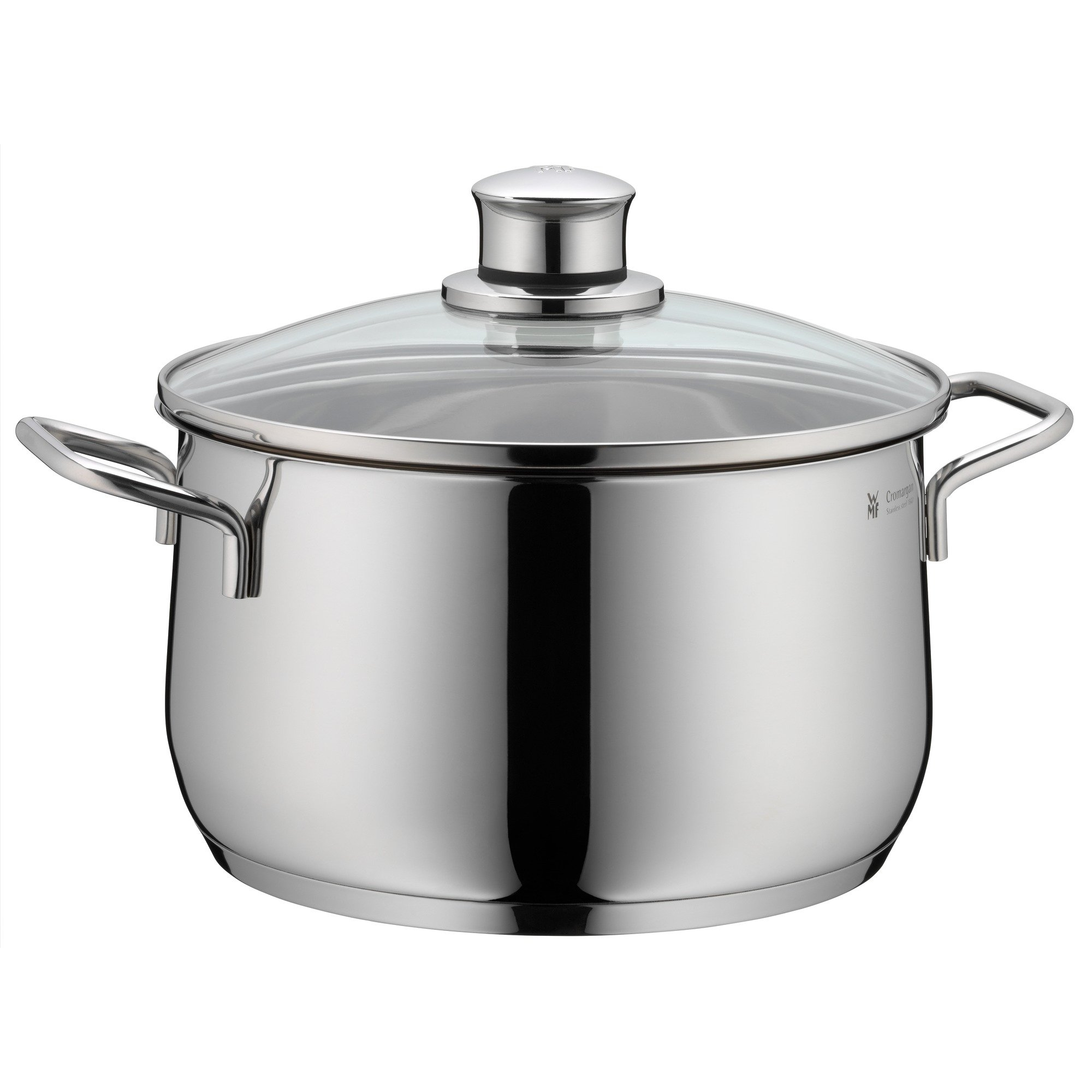 WMF Diadem Plus High Casserole with Lid, 18/10 Stainless