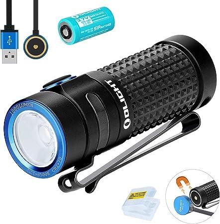 Pour sa-Olight S1R II Bâton Rechargeable 1000 LM PETIT EDC lampe de poche rouge