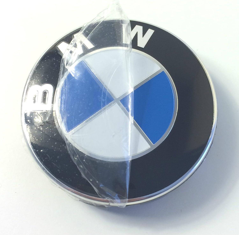 4x logo autocollant BMW 64 65 mm Embleme badge jante E90 E60 F10 E87 F30 X3 E46