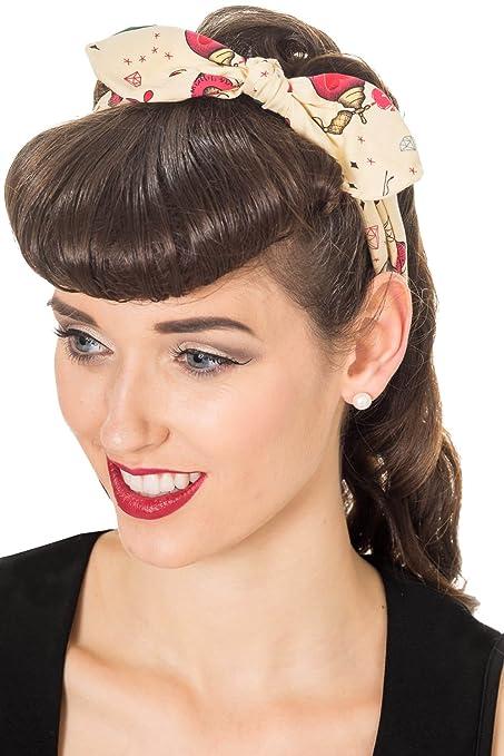 Vintage Hair Accessories: Combs, Headbands, Flowers, Scarf ...