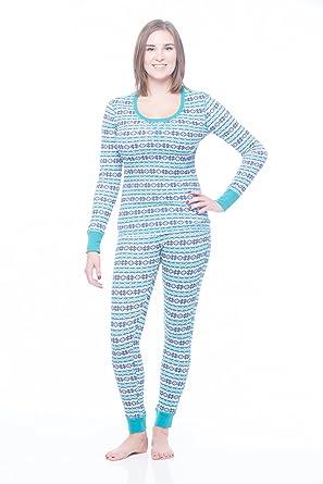 Women's Winter Thermal Long underwear base layering set at Amazon ...