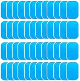 LEKEONE 50 Pcs/25 Packs Pads Abs Trainer Replacement Gel Sheet for EMS AB Trainer, Waist Trimmer Belt, ABS Toner Body…