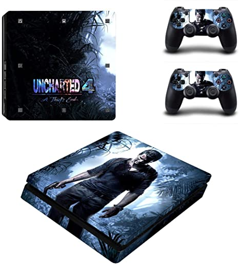 Buy Elton Uncharted 4 Theme 3m Skin Sticker Cover For Ps4 Slim