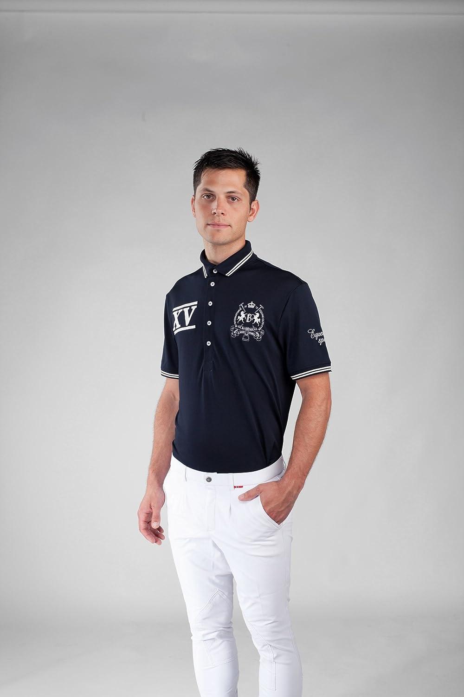 B Vertigo Ralph Unisex Technical Pique Shirt