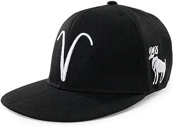4sold gorro de gorra de béisbol símbolo 12 constelación Hip Hop ...