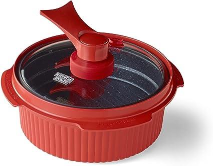 Range Mate Pro Cocina de olla antiadherente para microondas/olla ...