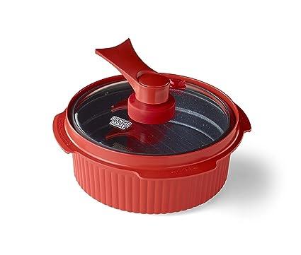 Range Mate Pro Cocina de olla antiadherente para microondas ...