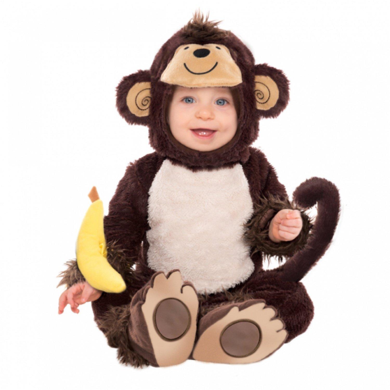 Generique - Affenkostüm für Babys 68/80 (6-12 Monate) 997538