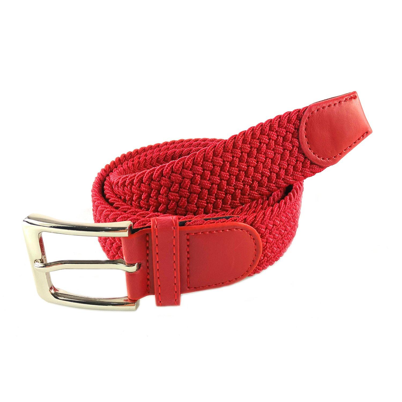 MYB Cintura elastica intrecciata per Uomo e Donna - diversi colori e  dimensioni product image c6107431602