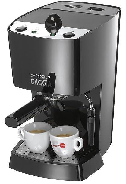 Gaggia Espresso Pure, Negro, 1100 W, 230-240V, 50Hz, 210